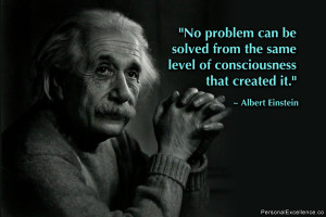 New thinking needed